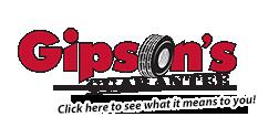 Gipson's Guarantee - click for more info